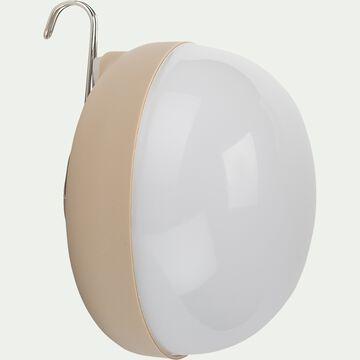 Ampoule d'extérieur rechargeable - beige H12xD11cm-CHERRY