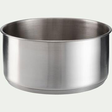 Casserole en inox D20cm (tous feux dont induction)-COUZ