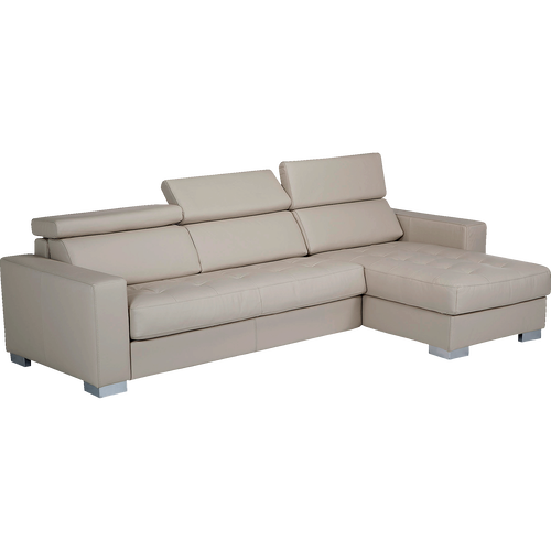canap cuir banquettes et canap s en cuir convertibles alinea alinea. Black Bedroom Furniture Sets. Home Design Ideas