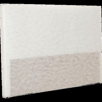 Structure de tête de lit Blanc - pour lit L180 cm-TOPAZE