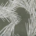 Galette de chaise de jardin en coton déperlant vert cèdre-MIKO
