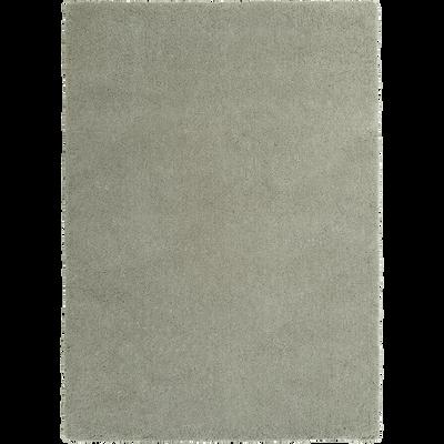 Tapis shaggy vert olivier 120x170cm-CELAN