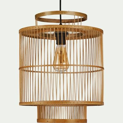 Suspension naturelle en bambou - D33xH40cm-HYDRA