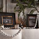 Cadre photo à poser en bois - noir 27x32cm-LOUISE