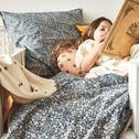 Housse de couette enfant 140x200cm et 1 taie d'oreiller 63x63cm-Sigean