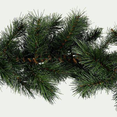 Guirlande végétale vert et givre L270cm-LILIW