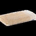 Serviette de toilette en coton 50x100cm beige nèfle-HANOI