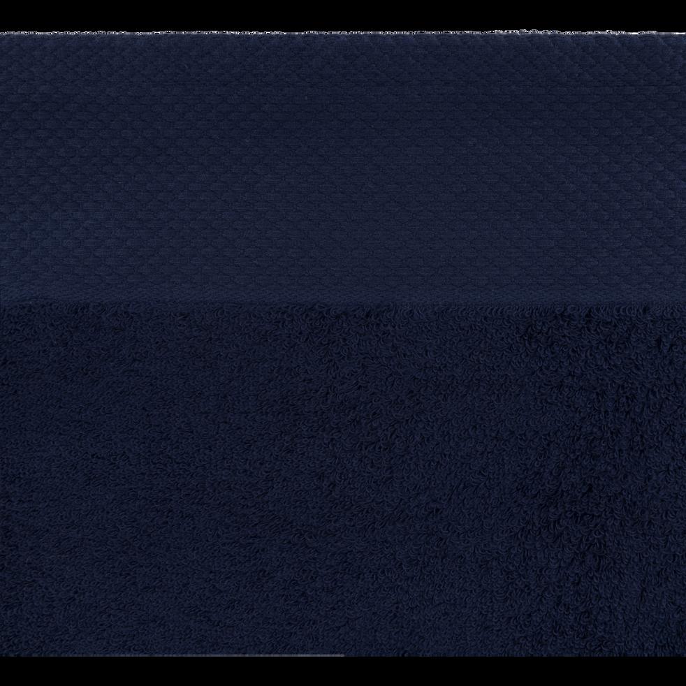 Linge de toilette bleu myrte-AZUR