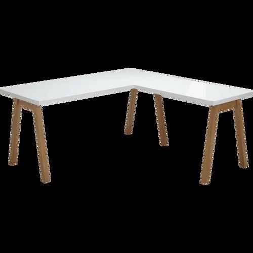 bureaux bureau en bois en m tal de style industriel alinea alinea. Black Bedroom Furniture Sets. Home Design Ideas