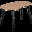 Table basse plaquée chêne-ECTOT