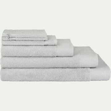 Linge de toilette gris borie (plusieurs coloris)-AZUR