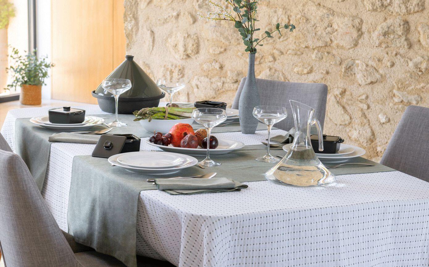 Assiette plate en porcelaine qualité hôtelière blanc D27cm-Eto