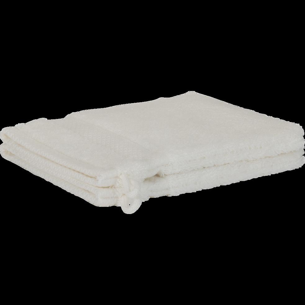 Lot de 2 gants en coton blanc capelan-AZUR