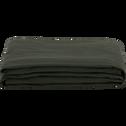 Housse de bz en coton et polyester vert cèdre 70x140x60cm-PAULINE