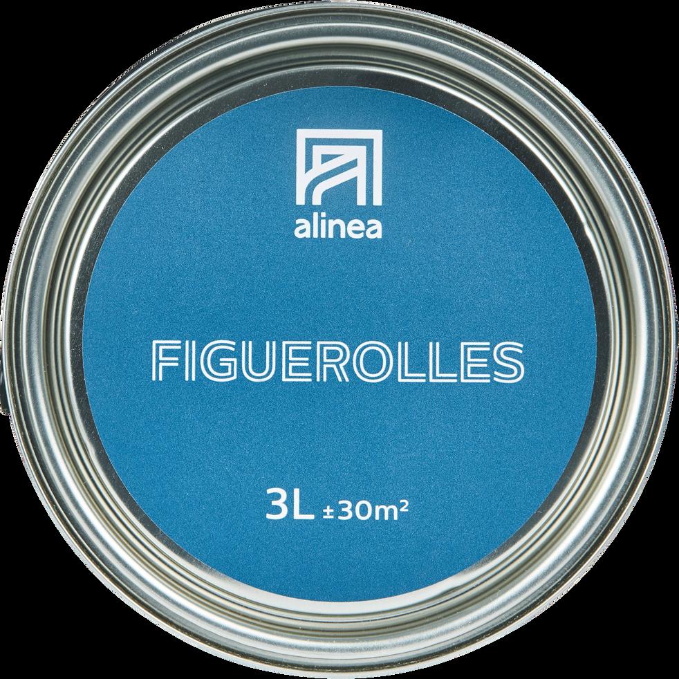 Peinture acrylique mate multi-supports 3L bleu figuerolles-PEINTURE