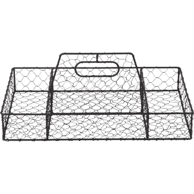Range couverts en métal noir-POOL
