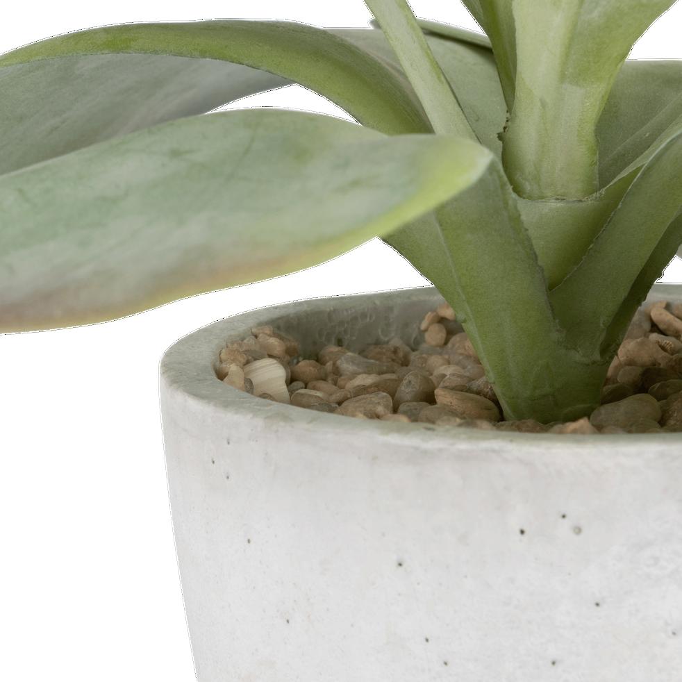 Plante artificielle type succulente H17 cm-STELLA