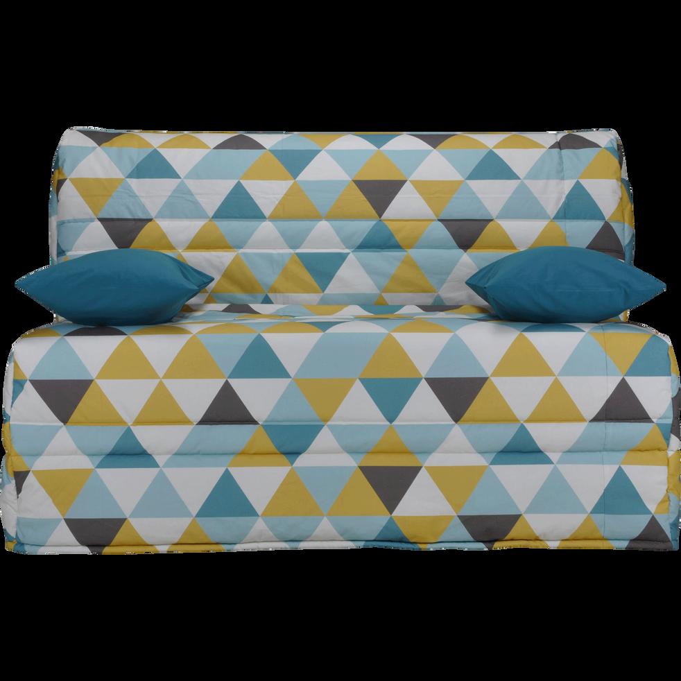 housse bz motif triangles 140cm scandi housses de clic. Black Bedroom Furniture Sets. Home Design Ideas