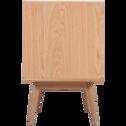 Meuble sous-vasque de salle de bains en chêne L95cm-HORTENSE