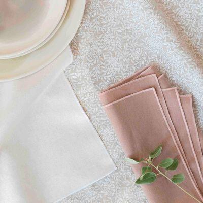 Gamme de linge de table en lin et coton-ST REMY