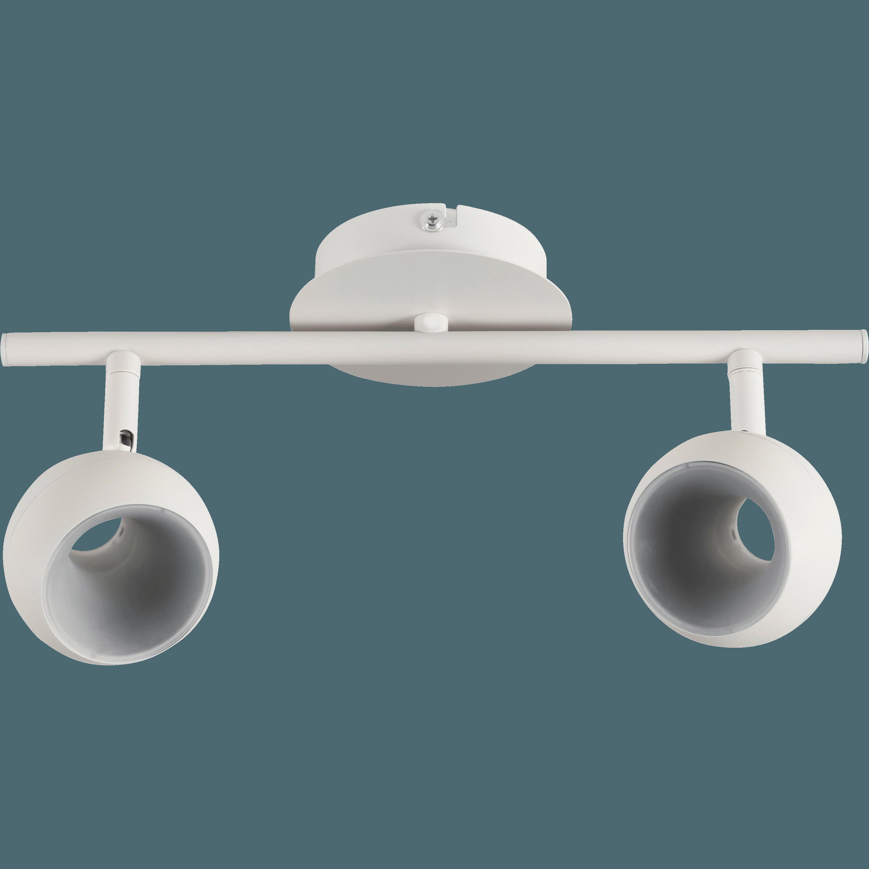 Spot En Métal Blanc 2 LED Intégrées ...