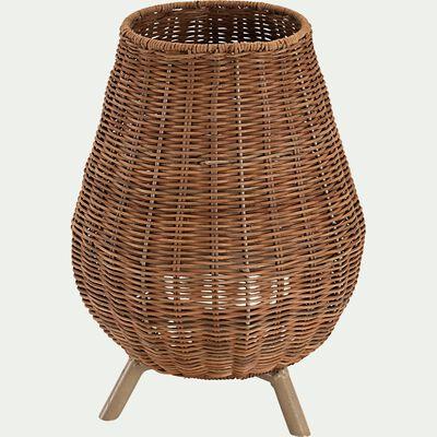 Lampe d'extérieur en fibres naturelles - naturel H32,5xD22,5 cm-SAONA
