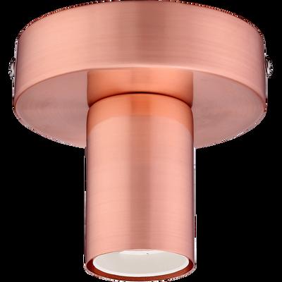 Applique / plafonnier en acier cuivré H9,2cm-KELLY