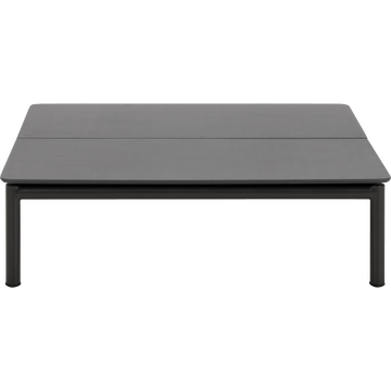 Table Basse De Jardin En Aluminium Gris Anthracite Alex