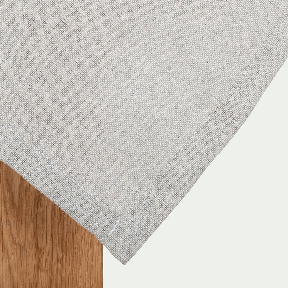 Nappe en polyester gris clair 140x250cm-GAITE