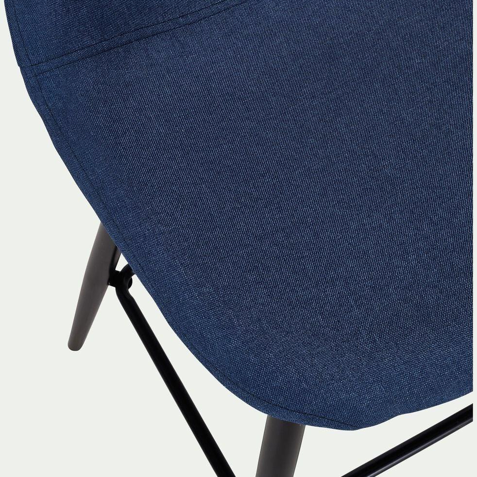 Chaise plan de travail H66cm - bleu figuerolles-LOANA
