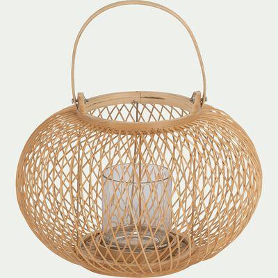 Lanterne en bambou D30xH20cm-VASCO