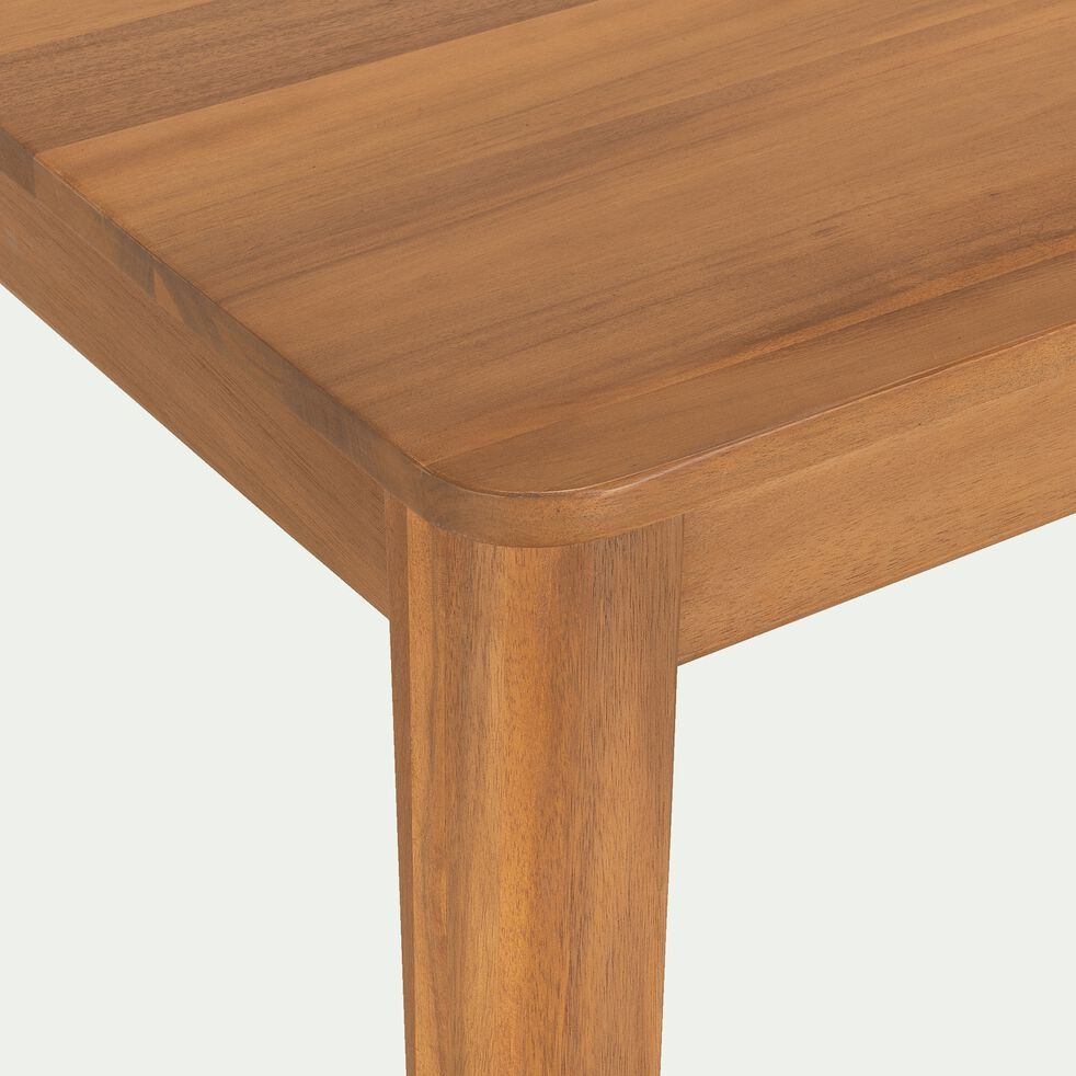 Table carrée en acacia - L90xl90cm-ESTILA