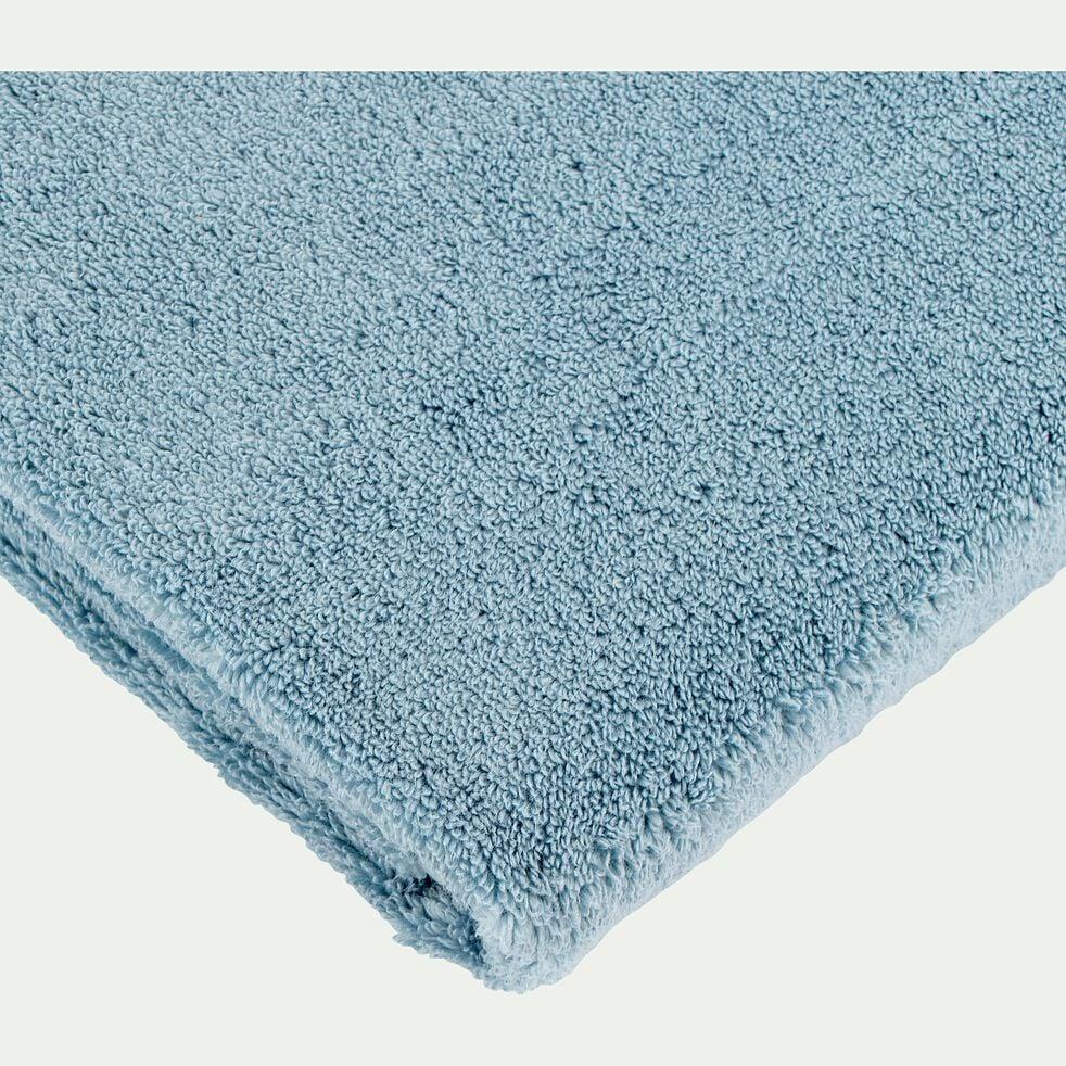 Linge de toilette bleu autan-NOUN