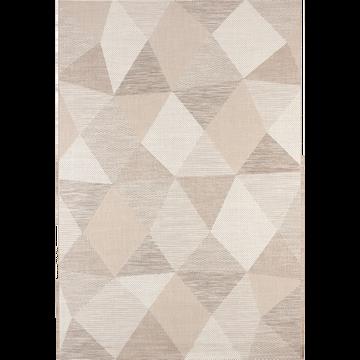 Tapis extérieur et intérieur beige 160x230cm-METRIX