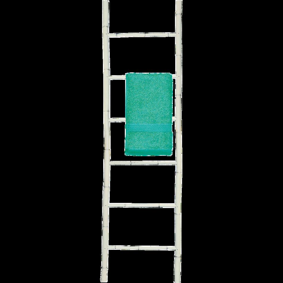 porte serviettes chelle en bambou blanc h190cm ciro. Black Bedroom Furniture Sets. Home Design Ideas