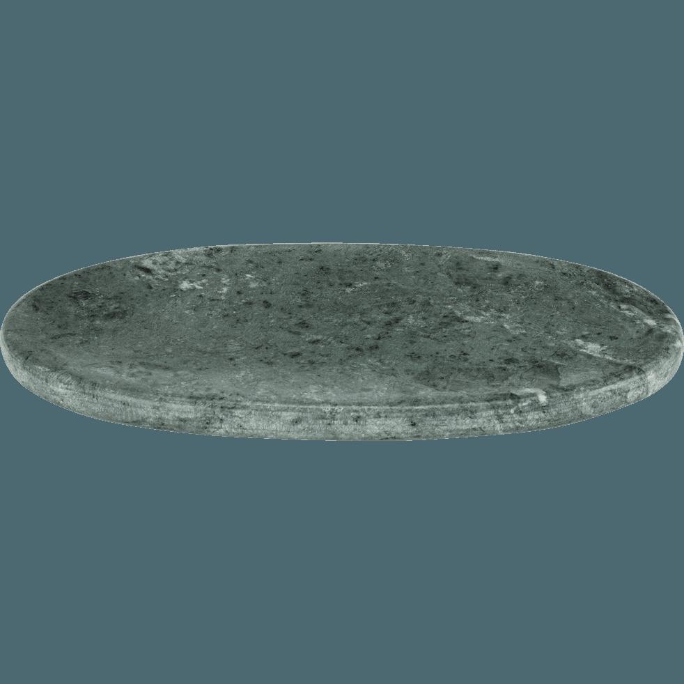 Plateau en marbre vert-EULALIE