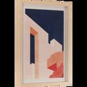 Image encadrée 40x30 cm-ZAGORA