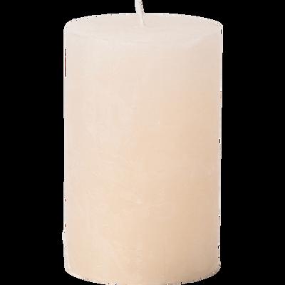 Bougie cylindrique coloris beige roucas-BEJAIA