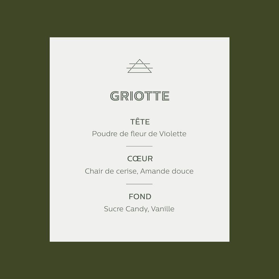 Bougie parfumée senteur Griotte 140g-GRIOTTE