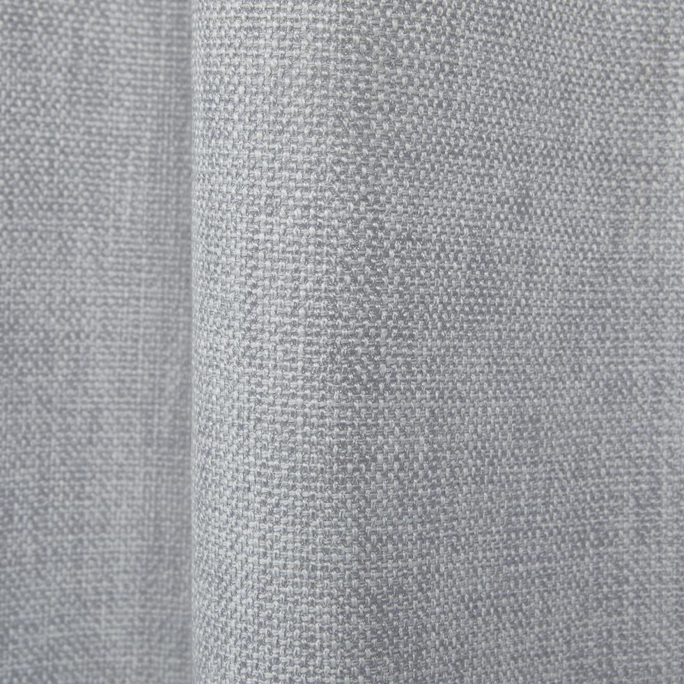 Rideau à oeillets gris clair 140x250cm-CADOLIVE