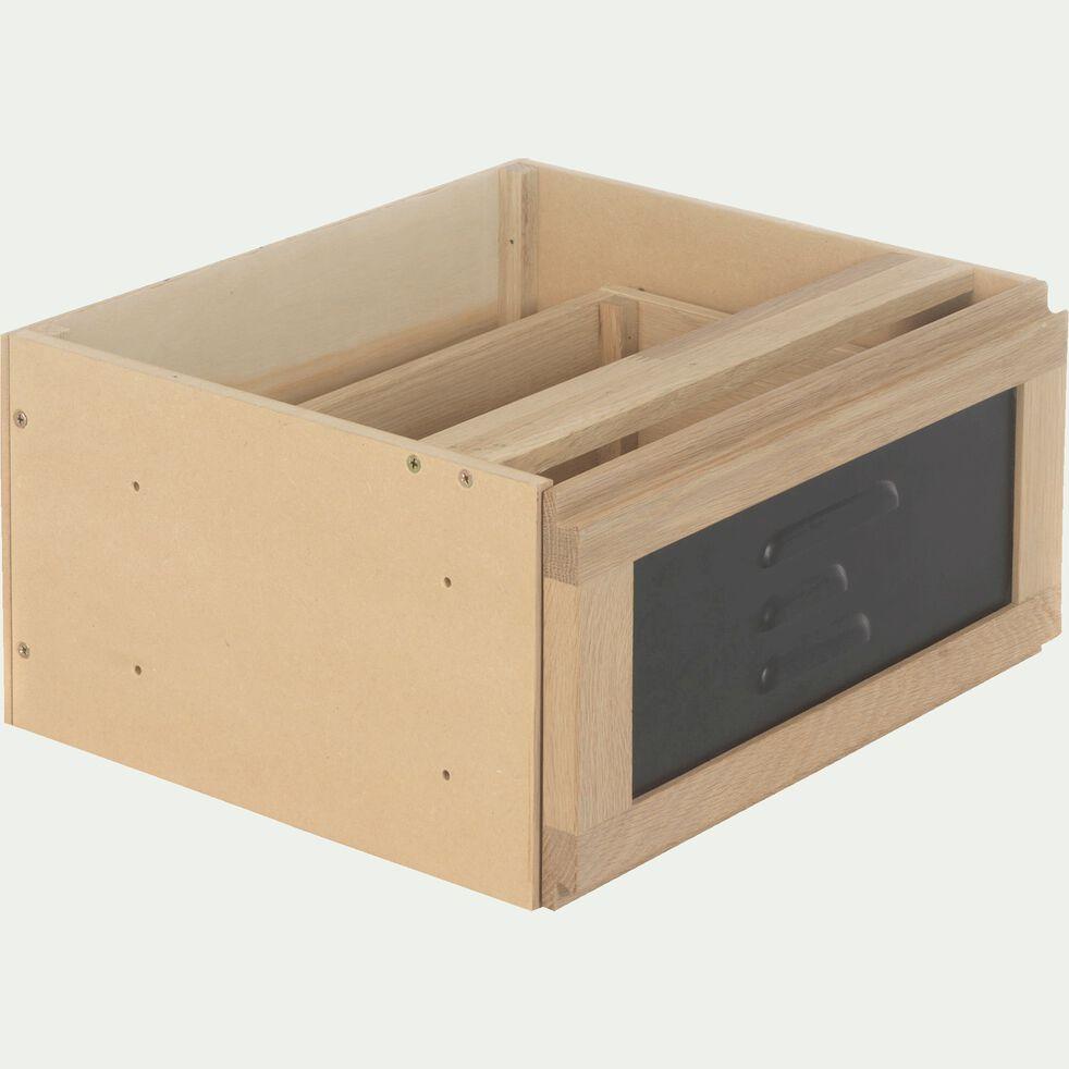 Bloc pour 1 tiroir en acier L40cm-Tassia