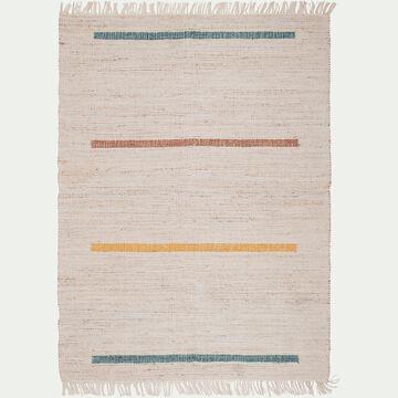 Tapis en jute et laine - multicolore 160x230cm-SURATE