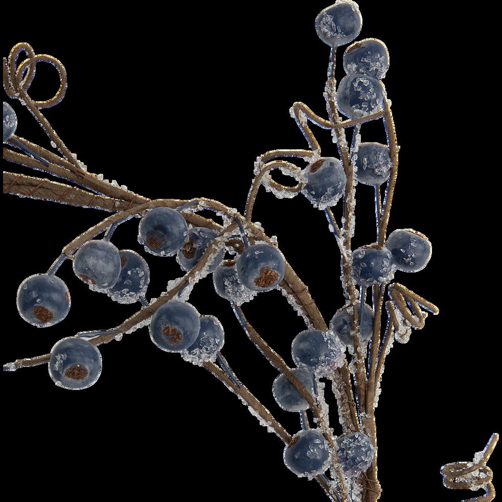 Guirlande de baies givrées L110cm-JAURES
