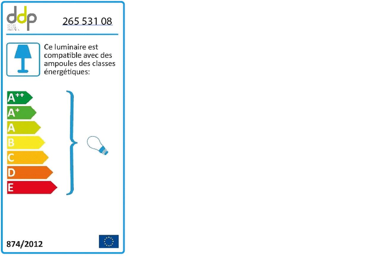 Lampe à poser en rotin noir D28xH30cm-NOELLIA