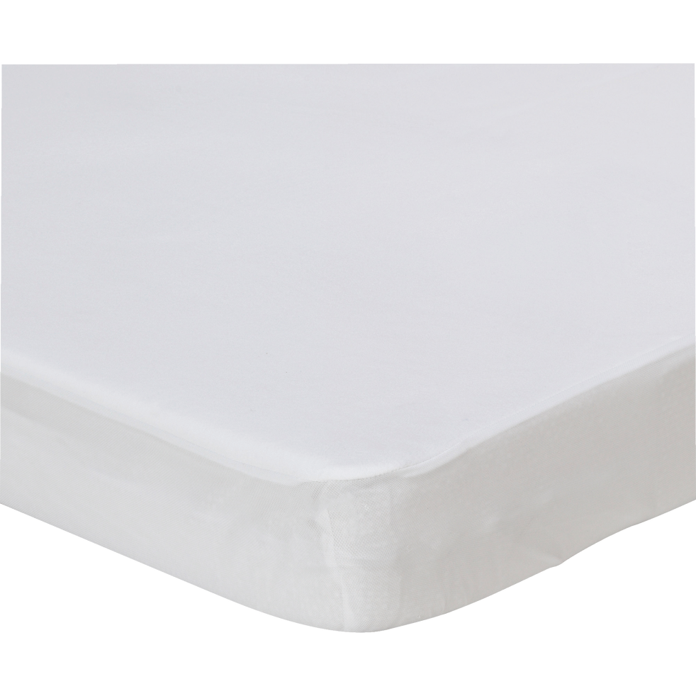 Protège-matelas en microfibres 160x200cm bonnet 30cm-Soak