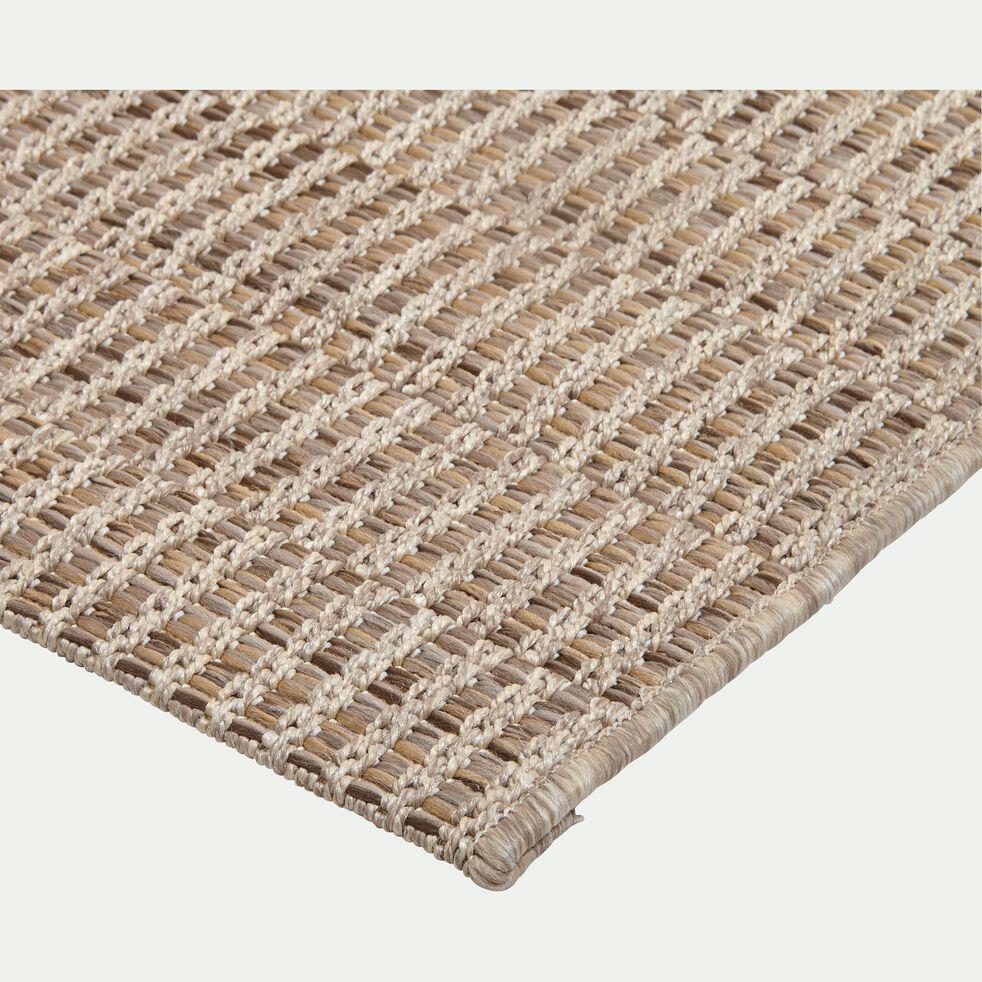 Tapis intérieur et extérieur aspect sisal - naturel 120x170cm-LUBERON