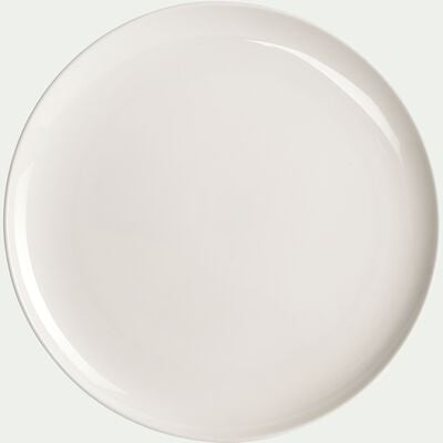 Assiette à dessert en porcelaine légère qualité hôtelière D21cm-SENANQUE