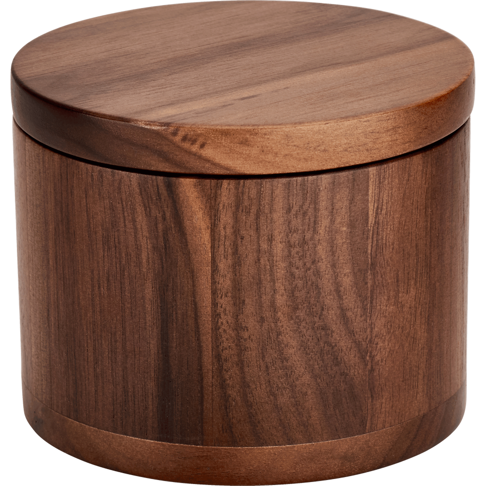 boite en bois de noyer d10cm flora objets d co alinea. Black Bedroom Furniture Sets. Home Design Ideas