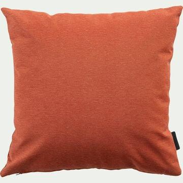 Coussin d'extérieur et intérieur déperlant - marron rustrel 40x40cm-TRAYAS