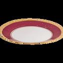 Lot de 8 assiettes en carton décoré D25cm-OPERA